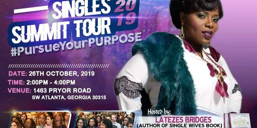 SINGLES SUMMIT TOUR 2019!!! #PursueYourPurpose