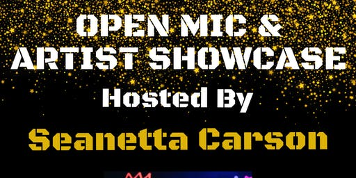 Level Up Open Mic & Artist Showcase