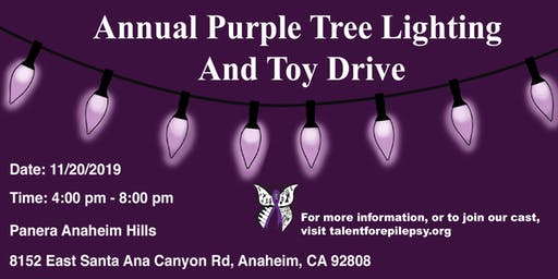 Purple Christmas (Tree Lighting and Toy Drive for Epilepsy)