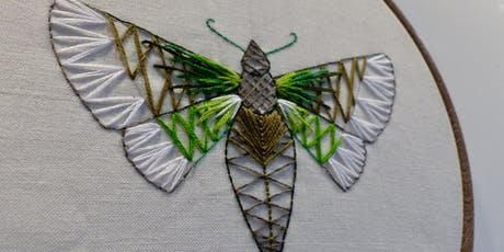 Wellbeing Workshop- Embroider a Bug, Wall Hanging tickets