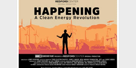 Film Screening of HAPPENING Directed by James Redford tickets