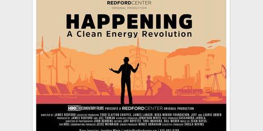 Film Screening of HAPPENING Directed by James Redford