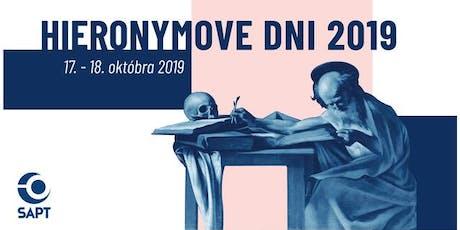 Hieronymove dni SAPT 2019 tickets