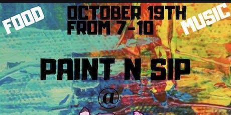 Paint n Sip at Tipsy Cupcakes RVA tickets