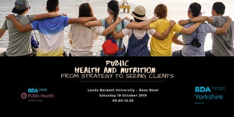 Attending in Leeds Ticket - Public Health and Nutrition: From Strategy to Seeing Clients tickets