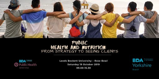 Attending in Leeds Ticket - Public Health and Nutrition: From Strategy to Seeing Clients
