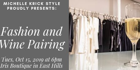 Fashion and Wine Pairing Event