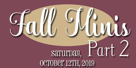 LaRueBoweRs Photography Fall Minis 2019 PART 2 tickets