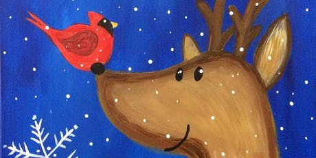 Paint and Sip - Holiday Friends tickets