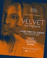 Velvet Saturdays @10thAvenueNY ~ DJs Kass + MCSWISZ + Bones