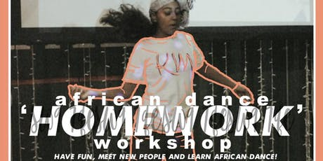 Karismatic Minds Presents: Homework Curated by Sheila Attah (Sitsofe Wellness) tickets