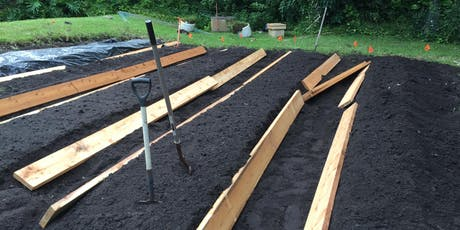 Build a raised garden bed tickets