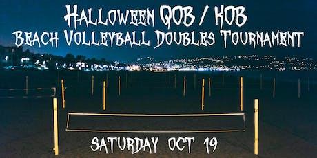 Halloween QOB/KOB Beach Volleyball Doubles Tournament entradas