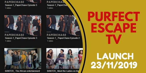 Purfect Escape Media Launch Evening