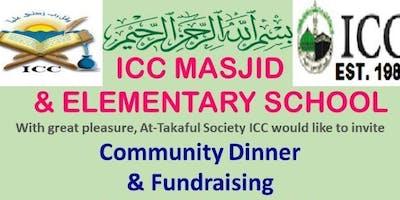 ICC Masjid & Elementary School Community Dinner & Fundraising