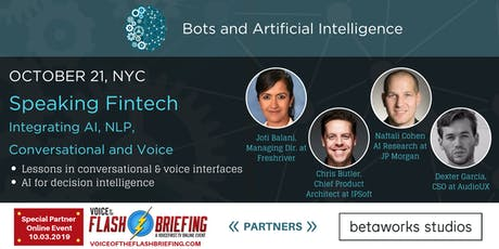 Speaking Fintech: Integrating AI, NLP, Conversational and Voice tickets
