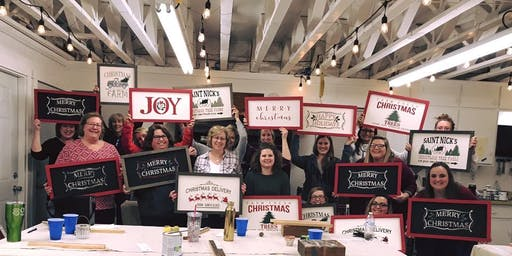 Christmas Sign Workshop