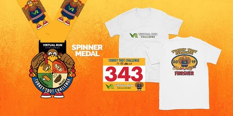 2019 - Turkey Trot Virtual Challenge - Spokane tickets