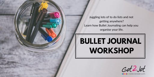 Bullet Journal Workshop for beginners