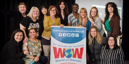 Diner de réseautage pour Femmes entrepreneures