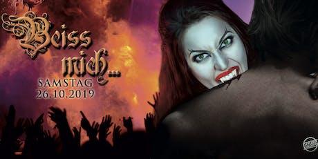 Beiss mich... auf der Halloween-Party im Parlament Samstag 26. Oktober  Tickets