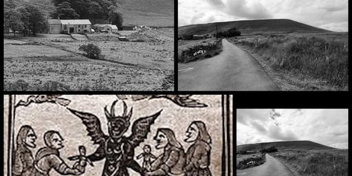 FRIDAY 13TH PENDLE WITCHES INTERACTIVE GHOST WALKS 13/12/19 10.30pm-11.30pm