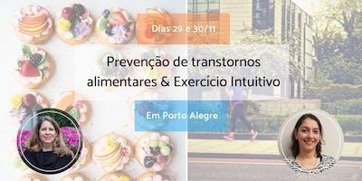 Workshop Transtornos Alimentares & Exercício Intuitivo