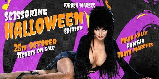 Scissoring Halloween Party