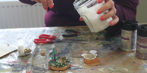 Snow Globes Workshop at Ruddi's Vintage Treat Rooms