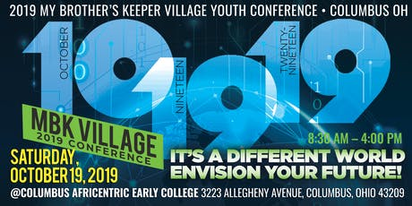 RESOURCE FAIR RSVP - MBK Village Youth Conference 2019 tickets