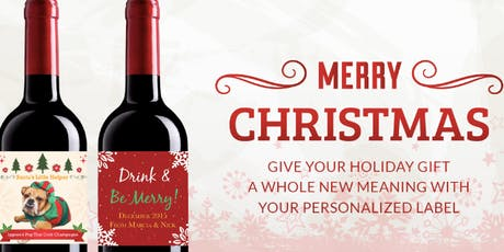 Small Business Saturday | Customize your Wine for Gifts & Parties | Nov 30 tickets