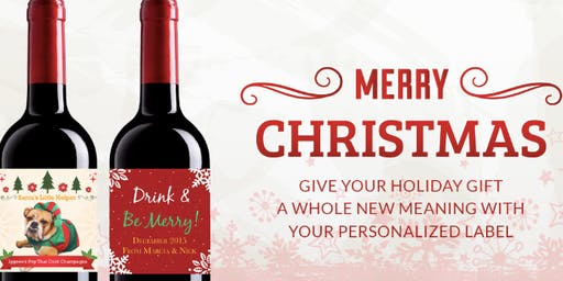 Small Business Saturday   Customize your Wine for Gifts & Parties   Nov 30