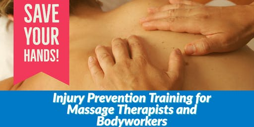 SAVE YOUR HANDS - Injury Prevention Workshop
