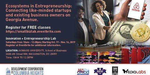 Ecosystems in Entrepreneurship Startup Series