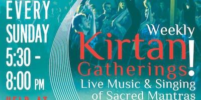Sunday Evening Kirtan: Weekly!