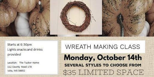 Wreath Making Class - Make it and Take it Home!