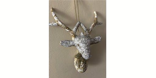 Decoupage reindeers