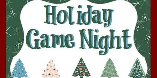 Family Holiday Game Night