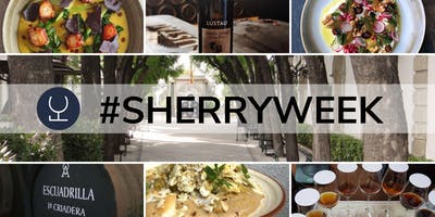 Spectacular sherry matched with Fourth and Church plates 12.30-3pm