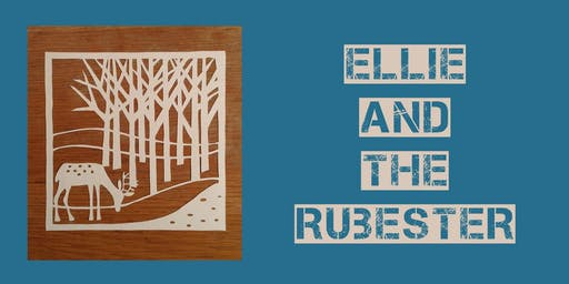 Christmas Papercutting, with Ellie + the Rubester