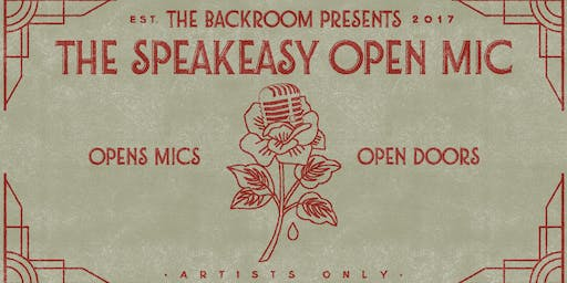 The Speakeasy Open Mic in Arlington