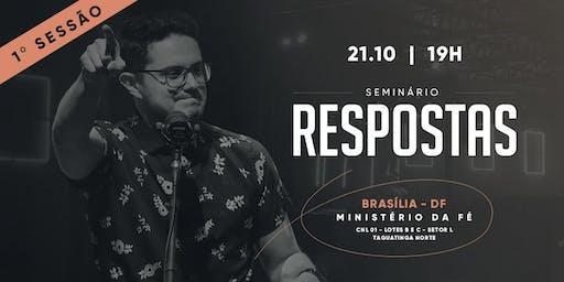 Seminário Respostas | Brasília