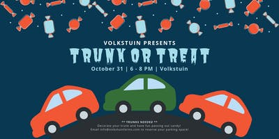 Trunk or Treat at Volkstuin