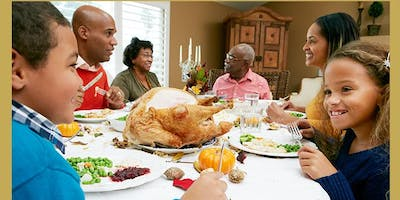 Thanksgiving Dinner for Foster and Adoptive Families