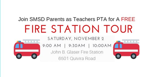 11/2/19 9:30 AM SMSD Parents as Teachers PTA Fire Station Tour