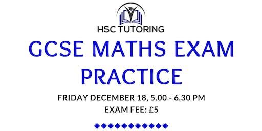 GCSE MATHS PRACTICE EXAM