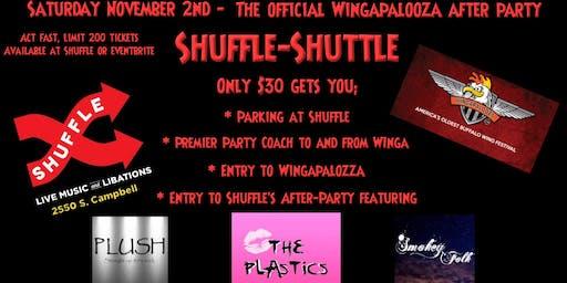 Shuffle-Shuttle to Wingapalooza