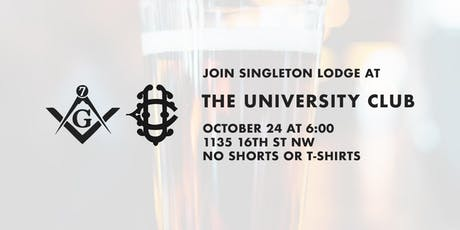 October Social Hour at the University Club tickets