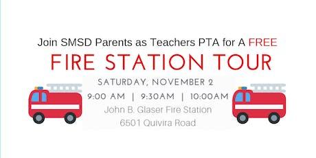 11/2/19 10 AM SMSD Parents as Teachers PTA Fire Station Tour tickets
