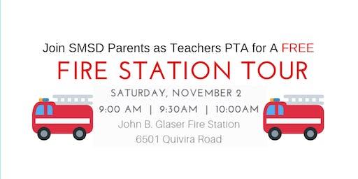 11/2/19 10 AM SMSD Parents as Teachers PTA Fire Station Tour